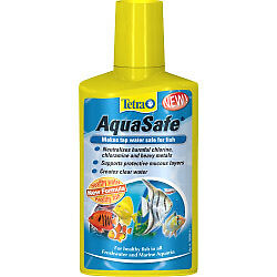 Tetra AquaSafe 250ml Creates Safe, Nature-like Water For Fish And Plants