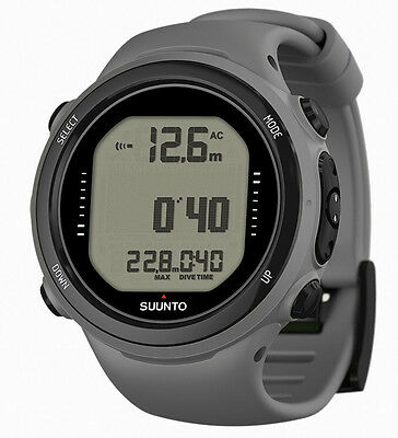 Suunto D4i Novo grau Tauchcomputer, Taucheruhr + USB Interface