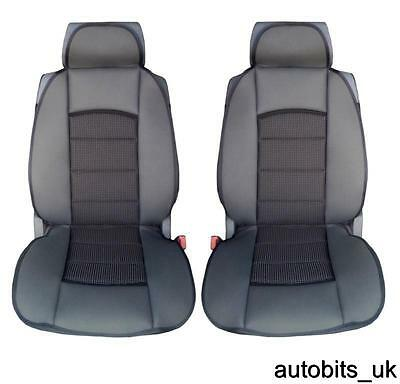 PREMIUM BLACK CUSHION PADDED Seat Covers Cushion FIAT DUCATO LUXURY MOTORHOME