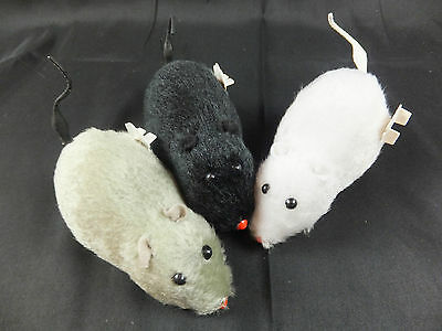 Large Wind Up Mouse - Cat Toy - Choice Of Colours    Cto 06