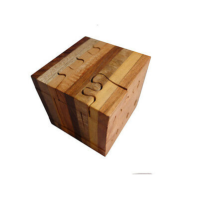 Timber-Treasures Wooden Cube Puzzle
