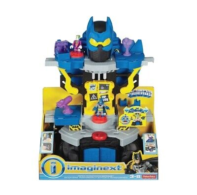 Imaginext R/C Transforming BatBot Batman Robot + Tank DC SuperFriends BFT56 NEW!