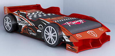 NEW Luxury F1 Racing Car Bed