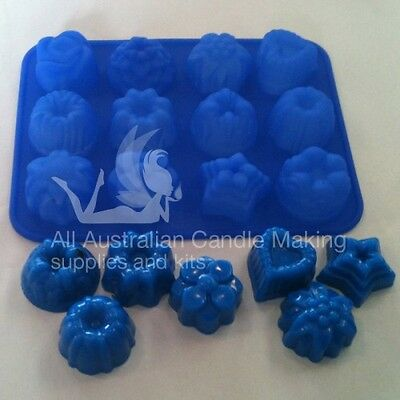 Silicon Soap Mould - budget 12 cavities