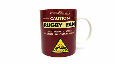 Ministry Of Chaps Mug Rugby Boxed Gift