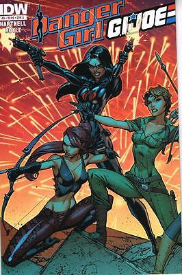 Danger Girl / GI Joe  -Issue # 2 - Cover A - August 2012 - IDW - NM (1859)