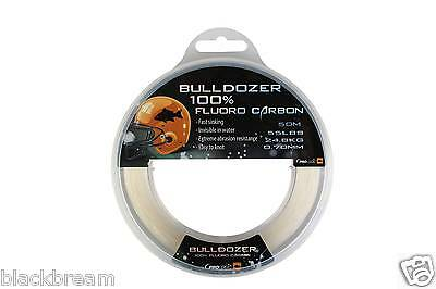 PRO LOGIC BULLDOZER FLUOROCARBON 50m FISHING LINE HOOK LENGTH CARP BARBEL COARSE