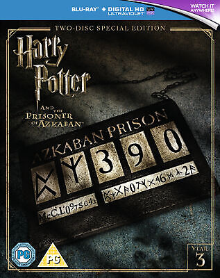 Harry Potter And The Prisoner Of Azkaban 2016 Edition (Blu-ray)