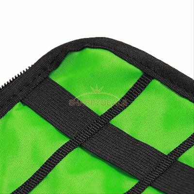 Portable Electronic Acc Cable USB Drive Organizer Bag Travel Insert Storage Case