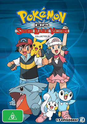 Pokemon -Diamond And Pearl Sinnoh League Victors :Collection 2 (DVD, 2011,2disc)