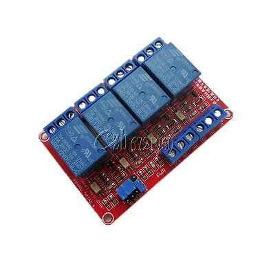12V 4-Channel Relay Module with Optocoupler H/L Level Triger for Arduino
