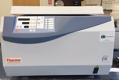 Thermo /Jouan C4i 3-Liter Centrifuge with Rotor & Buckets