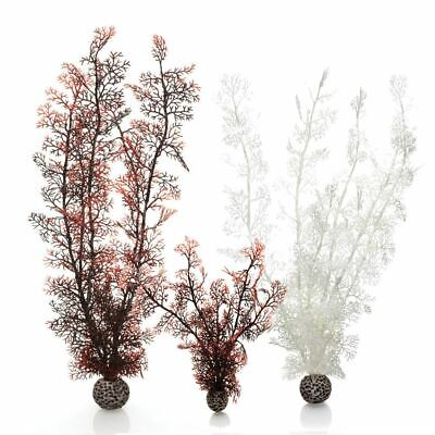 Oase Biorb Sea Fan Aquarium Fish Tank Plastic Decoration Plants Display Ornament