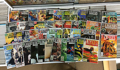 Legends of the DC Universe #1-41 + Extras 44 Comics Complete Series NM Full Set