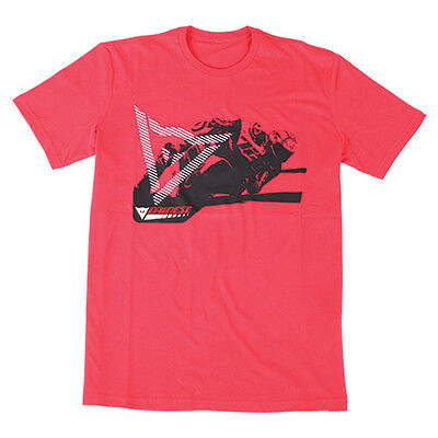 Dainese Gripping Motorcycle Casual Wear T-Shirt - Red