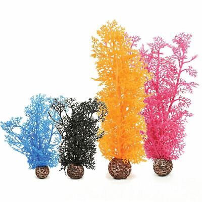 Oase Biorb Coloured Sea Fan Aquarium Fish Tank Decoration Ornament Plant Bowl