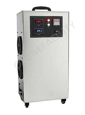 30G Ozone Machine for Water Treatment | Movable Air Cooled Ozone Generator