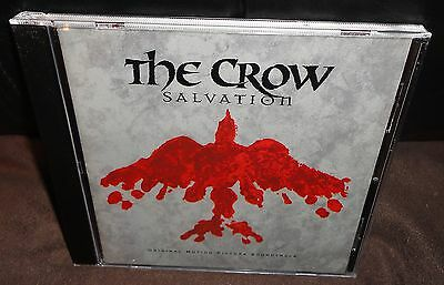 The Crow Salvation Original Motion Picture Soundtrack (CD, 2000) FAST & FREE