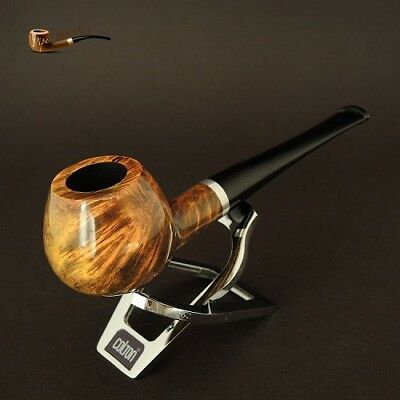 HAND MADE WOODEN TOBACCO SMOKING PIPE BRUYERE no 73 Green/Yellow   Briar