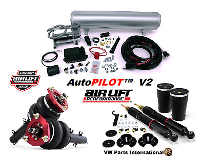 VW Golf MK4 GTI TDI Air Lift Digital Autopilot V2 + Front & Rear Performance Kit