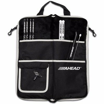 New Ahead Sb2 Deluxe Drum Stick Bag Holds 10 Pairs Of Drumsticks Ships Free
