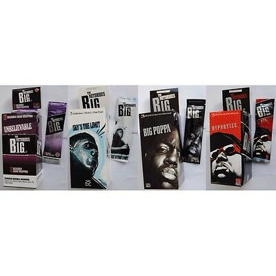 Notorious BIG Blunt Wraps Rolling Paper 12 wraps for $11.95 (4 packs)