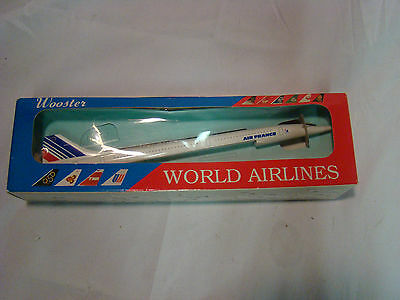 Air France Concorde Model No 42  Wooster World Airlines