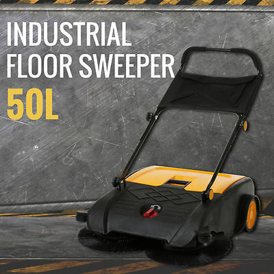 Sweeper Floor 50L Sweeping Scavenging Machine Cleaner Dust Cleaning Warehouse