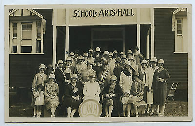 1920's Rp Npu Postcard Country Women's Association Branch Rural Victoria R43