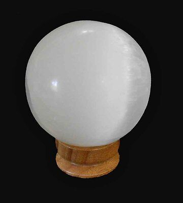 Gemstone Sphere - Selinite Crystal Spere