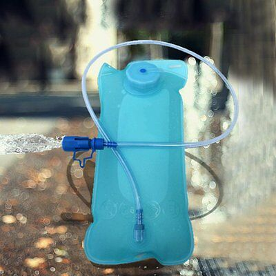 2L Hydration Bladder Bag Hiking Camping Portable Water Drinking Pouch Sports DP