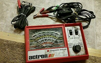actron inductive diagnostic analyzer tune up model 628 12 volt car truck systems