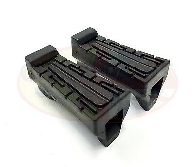 Yamaha YBR 125 all Years Front Footrest Rubbers Pair