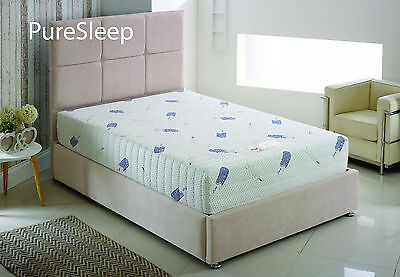 Pure Sleep 1200 Pocket Spring Mattress 12 INCH THICK Single Double King Size