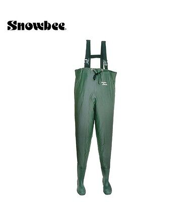 Snowbee Light Stretch CHEST Waders Fishing Hunting NEW