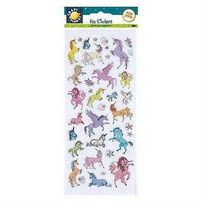 """Craft Planet Fun Foiled Stickers """" Unicorns """" For Cards & Craft"""