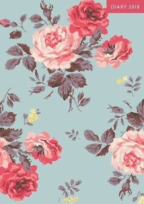 Cath Kidston: The 2018 A5 Diary Antique Rose (Diaries 2018) - RRP: £16.00