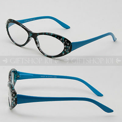 Women Rhinestone Fashion Designer Classic Reading Glasses Various Strengths
