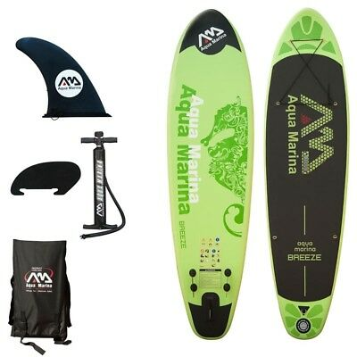 Aqua Marina BREEZE Inflatable Stand Up Paddle BOARD 9' 9""