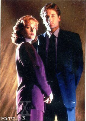 Carte de collection. card from TV series X-FILES N° 3