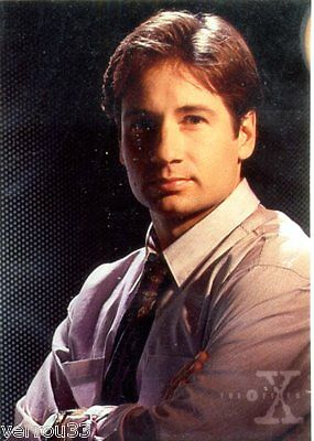 Carte de collection. card from TV series X-FILES N° 4