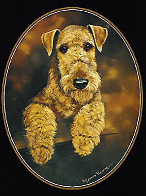 Airedale  Lapel Pin