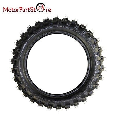 2.50-10 Inch Pit Dirt Bike TYRE TIRE Front Knobby Tyre Tire for PW50 PY50 Bike