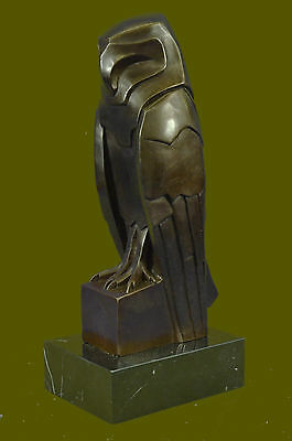 Large Hot Cast Indoor/Outdoor Garden Owl Bird Bronze Sculpture Statue Figurine