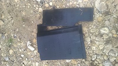 Full Set Under Seats Mats - Removed From Ford Iveco 75-E-