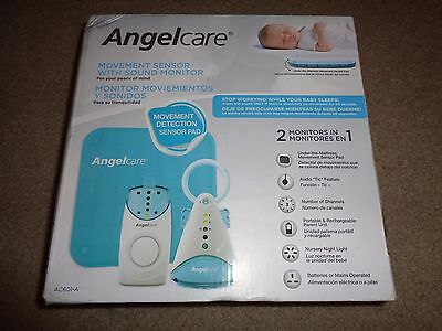 Angelcare  Baby Monitor Movement Sensor With Sound Monitor Brand New Ac601 Auqa