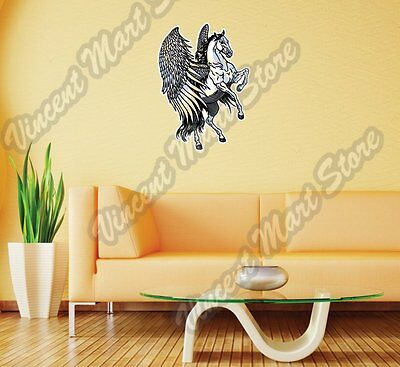 PEGASUS WINGED HORSE WALL SCULPTURE Greek Mythology Statue ...