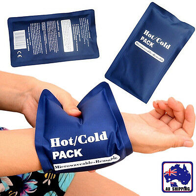 Reusable Hot/Cold Gel Pack Therapy For First Aid Muscle Pain Relief SGBA11106