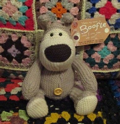 ** BOOFLE Plain naked knitted pup **