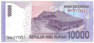 2014 INDONESIA 10,000x50 Pieces= 500,000 Rupiah,IDR,Uncirculated Banknotes